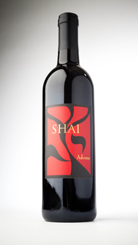 Shai bottle- photo credit Rico Mandel Photography